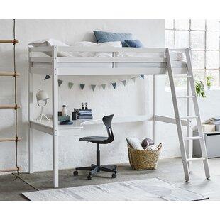 Best Price Brazil European Single (90 X 200cm) High Sleeper Bed With Desk