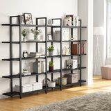 Pirtle 72 H x 47.24 W Metal Etagere Bookcase by Williston Forge