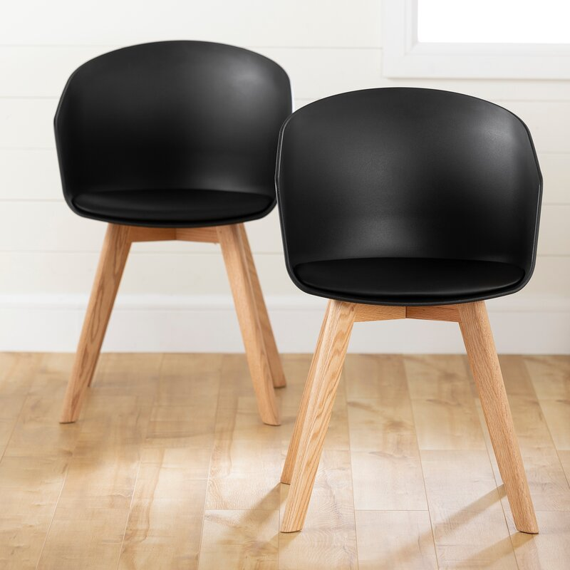 South Shore Flam Arm Chair (Set of 2)