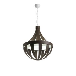 Orren Ellis Butterfield 4-Light Empire Chandelier