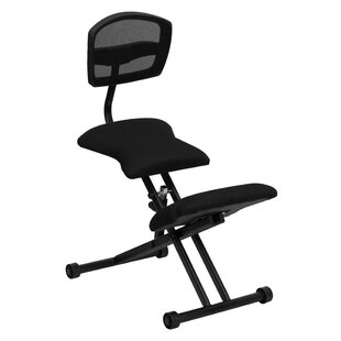 Mid-Back Kneeling Chair by Symple Stuff Comparison
