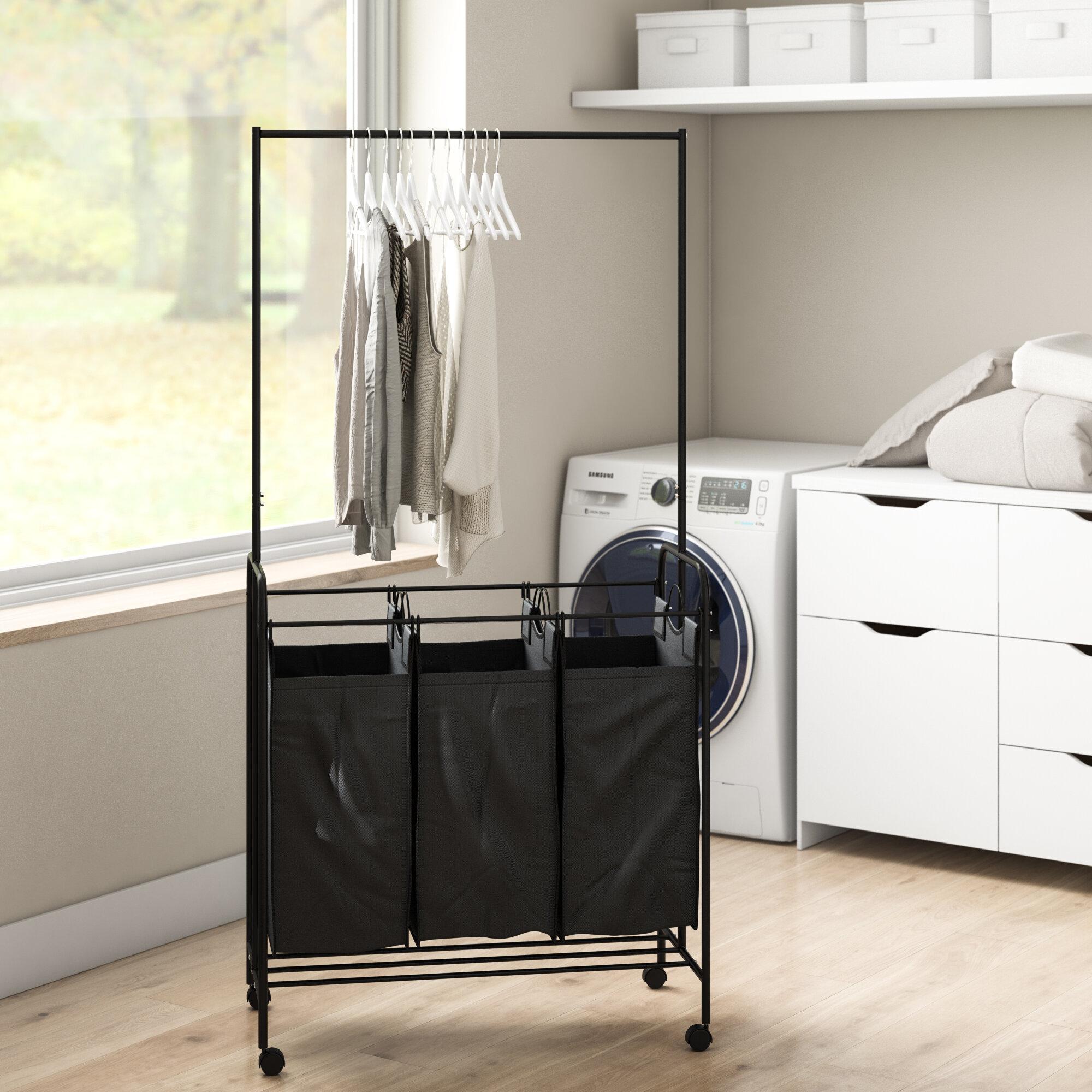 Laundry Hamper Sorter Cart
