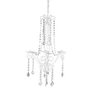 Beaded Glass Candelabra