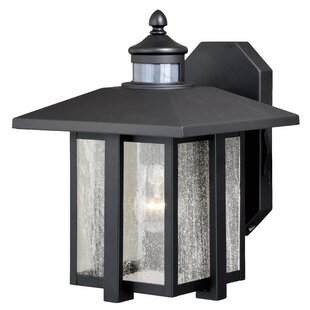 Engle Outdoor Wall Lantern With Motion Sensor