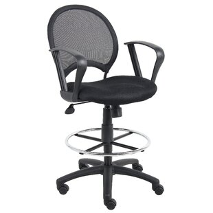 Boss Office Products Mesh Drafting Chair
