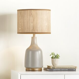 Miramonte Allen 25.5 H Table Lamp with Drum Shade