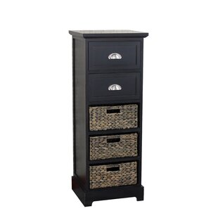 Fleming 2 Drawer 3 Basket Chest by Beachcrest Home