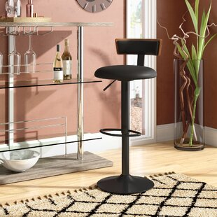 Tyner Adjustable Height Swivel Bar Stool