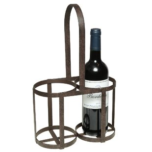 Alley 2 Bottle Tabletop Wine Rack By Borough Wharf