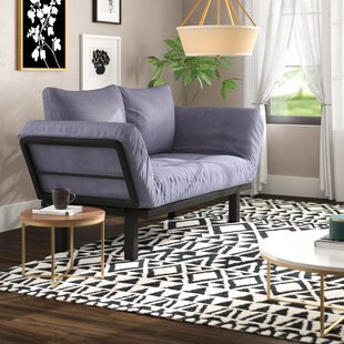 Read Reviews Everett Convertible Lounger Futon and Mattress by Ebern Designs Reviews (2019) & Buyer's Guide