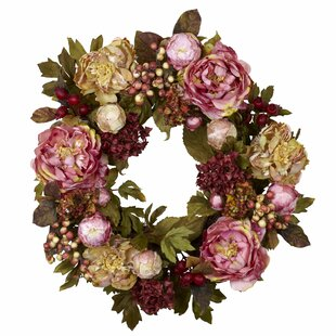 Hydrangea Door Wreath Wayfair