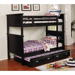 Look for Sultan Twin-on-Twin Bunk Bed by Harriet Bee Reviews (2019) & Buyer's Guide