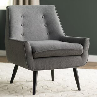Contemporary Grey Accent Chair Model
