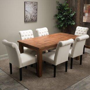 Home Loft Concepts Montero 7 Piece Dining Set