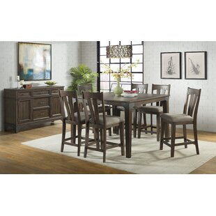 Oday 7 Piece Pub Table Set