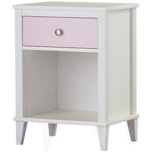Read Reviews Monarch Hill Poppy 1 Drawer Nightstand By Little Seeds