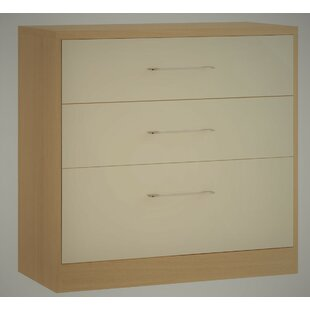 Sharrott 3 Drawer Chest By Marlow Home Co.