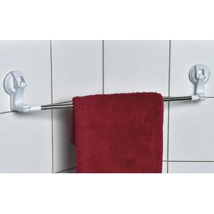 Swiveling Suction 24.8 Wall Mounted Towel Bar By Evideco