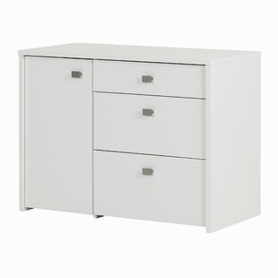 Interface 3 Drawers Accent Cabinet by South Shore