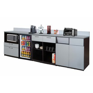 36 H x 84 W 3 Piece Pantry Cabinet Set by Breaktime