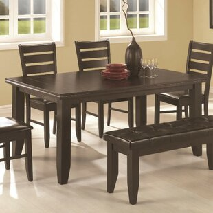 Jefferson Place Semi-Formal Solid Wood Dining Table