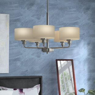 Wrought Studio Wyncote 5-Light Shaded Chandelier