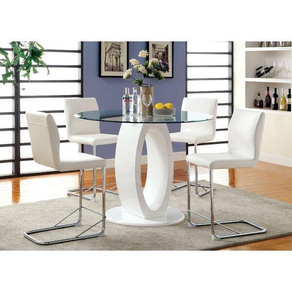 Hokku Designs Benedict 5 Piece Dining Set U0026 Reviews | Wayfair