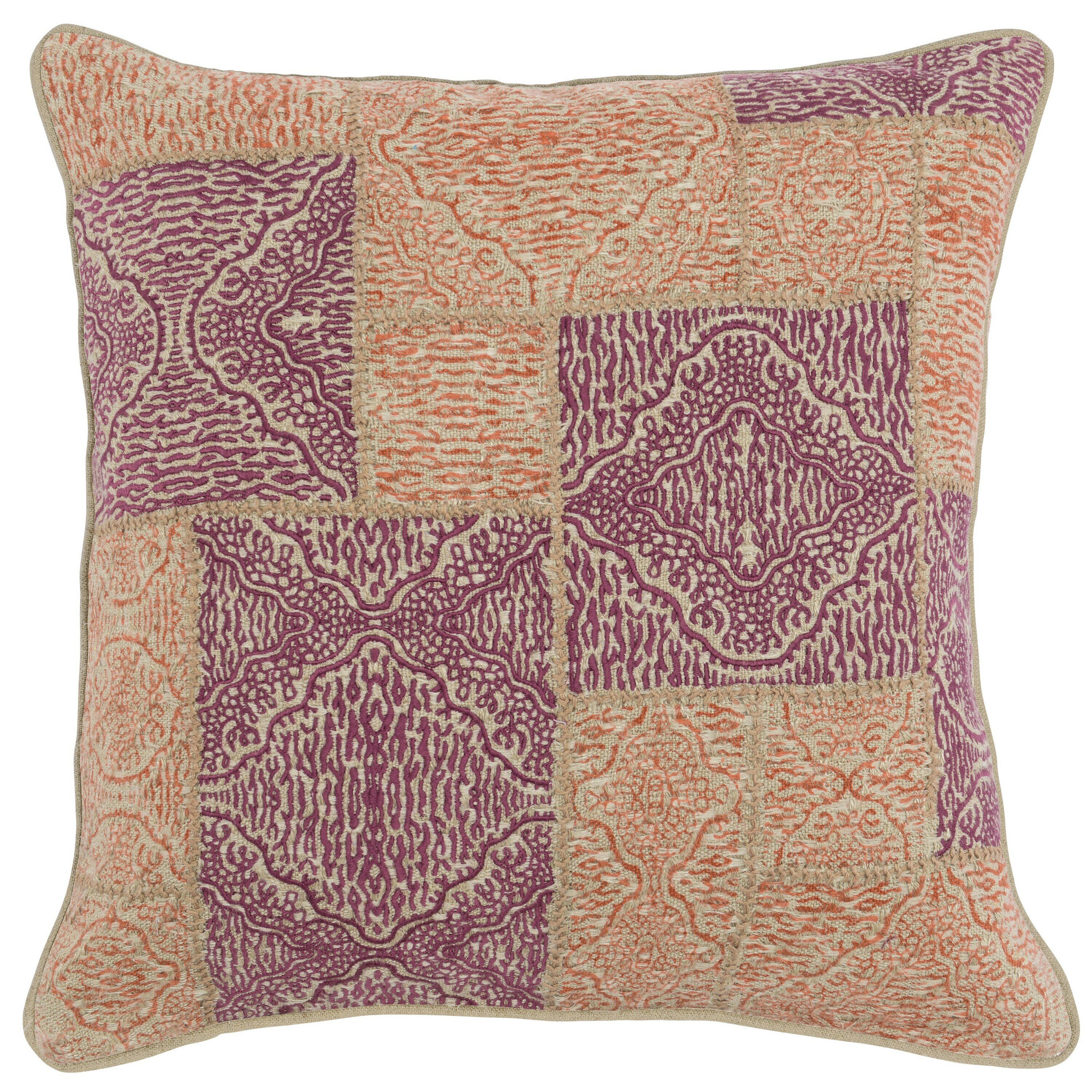 Bloomsbury Market Arizbeth Machine And Hand Woven Square Pillow Cover And Insert Wayfair