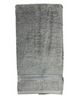 Best Choices Rhinestone Egyptian-Quality Cotton Hand Towel BySparkles Home