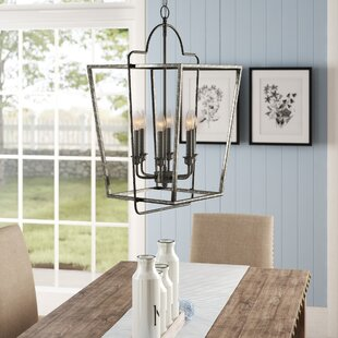 Khaleesi 6-Light Lantern Chandelier by Gr..