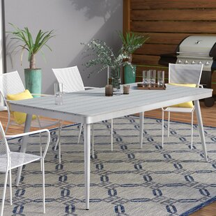 Julius Plastic/Resin Dining Table by Langley Street