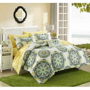 Reversible Bed-In-A-Bag Comforter Set