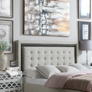 Reviews Rawley Queen Upholstered Panel Headboard by Charlton Home