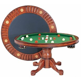 Round Bumper Pool 4.5u0027 Game Table