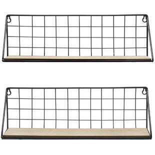 Prentice Wall Shelf (Set of 2)