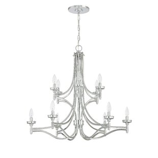 Alcott Hill Beauchamp 12-Light Chandelier