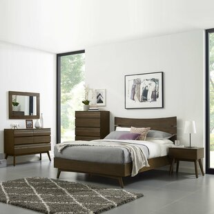 Burson Queen Platform 5 Piece Bedroom Set