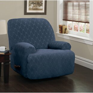 Jumbo Box Cushion Recliner Slipcover by Winston Porter