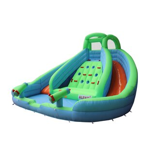 ALEKO Island Water Slide Bounce House