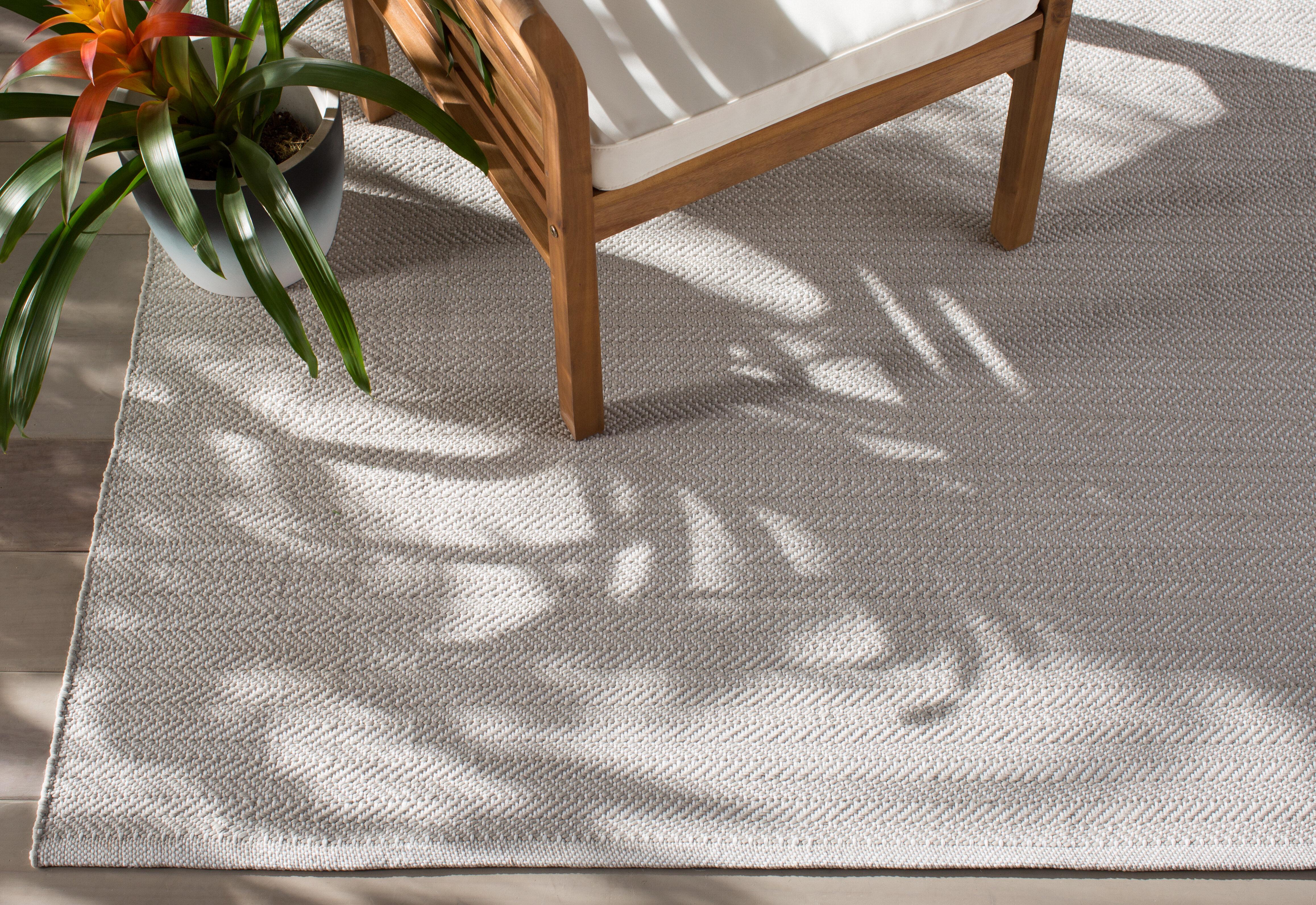 Dash And Albert Rugs C3 Herringbone Gray Indoor Outdoor Area Rug Reviews Wayfair