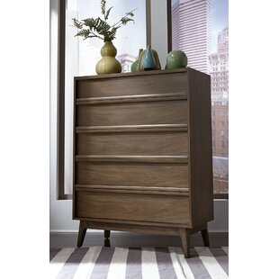 Calvillo 5 Drawer Standard Dresser/Chest by George Oliver