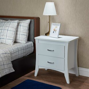 Amble 2 Drawer Nightstand