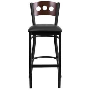 Barker 32 Bar Stool (Set of 2) Red Barrel Studio