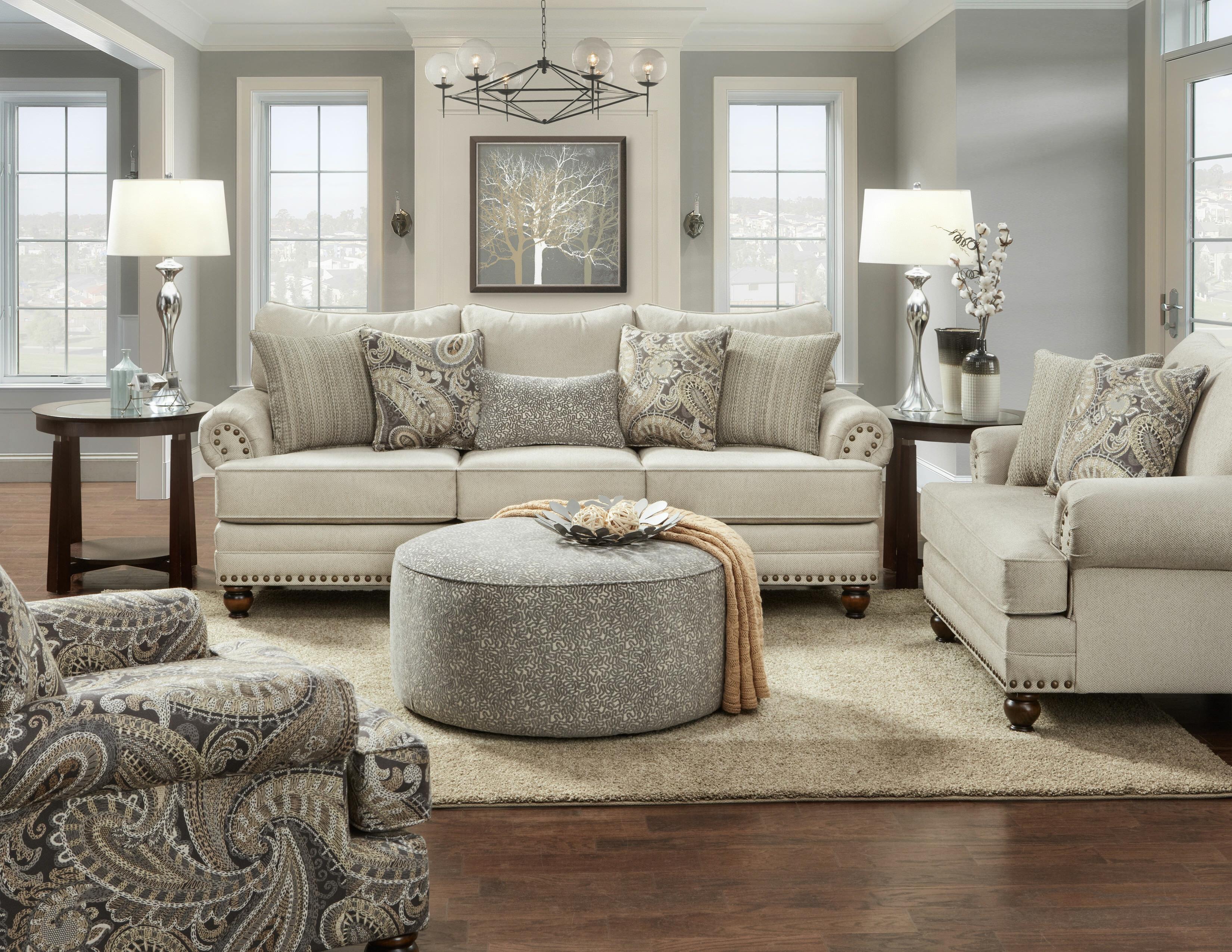 Sauer Configurable Living Room Set