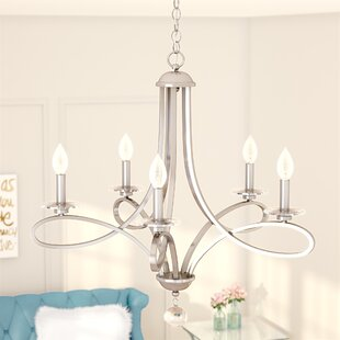Willa Arlo Interiors Berger 5-Light Chand..