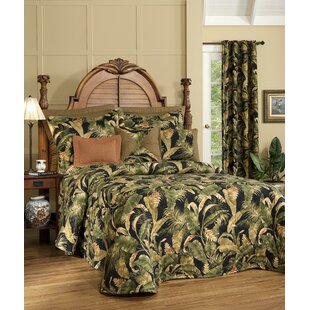Adamstown At Home La Selva Black Bedspread