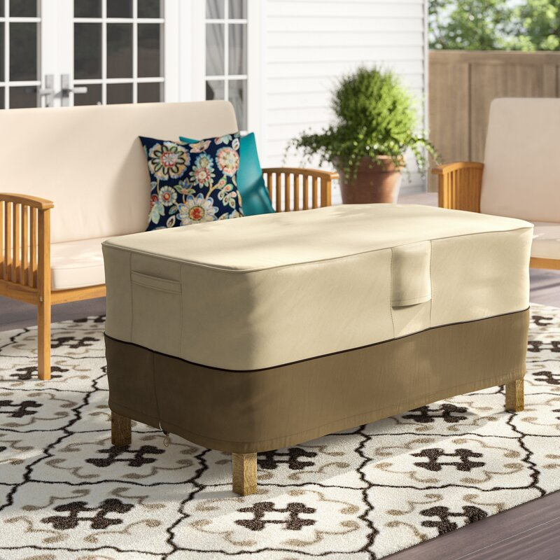 Freeport Park Donahue Water Resistant Patio Table Cover Reviews Wayfair