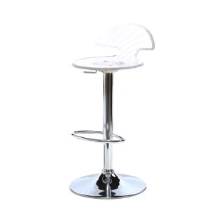 Blaisdell Adjustable Height Swivel Bar Stool Latitude Run