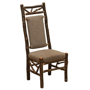 Fireside Lodge Hickory Twig Upholstered Side Chair