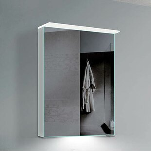 Alcazaba 19.63 x 27.63 Recessed Medicine Cabinet with LED Lighting by Orren Ellis
